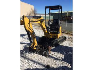 Caterpillar 301.7DCR, Construction