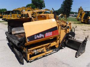 LeeBoy L8000T, Construction