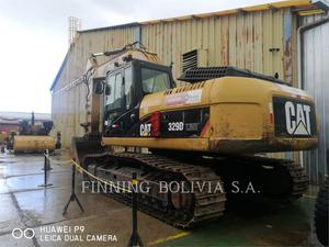 Caterpillar 329DL, Construction