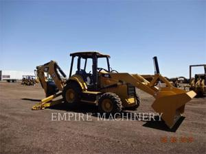 Caterpillar 440-07 4EO, Construction