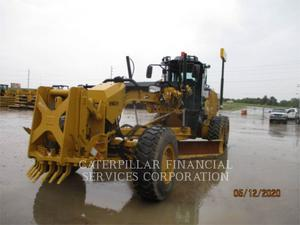 Caterpillar 140M3AWD, Construction