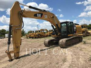 Caterpillar 336EL, Construction