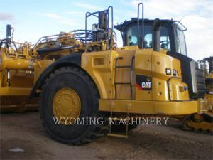 Caterpillar 627K, Construction