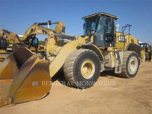 Caterpillar 972M XE, Construction