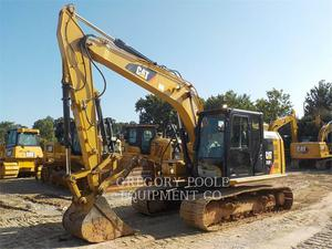 Caterpillar 313F L, Construction