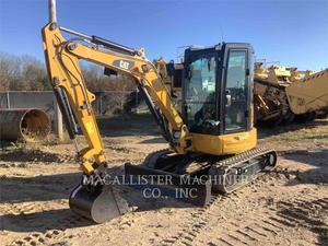 Caterpillar 303.5E2 AQ (K), Construction