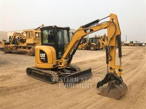 Caterpillar 303.5E2, Construction