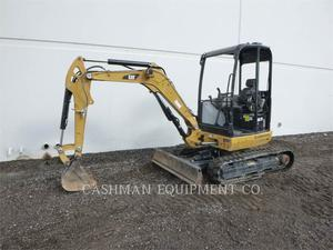 Caterpillar 302.7D CR, Construction