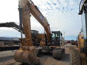 Caterpillar 323-07, Construction